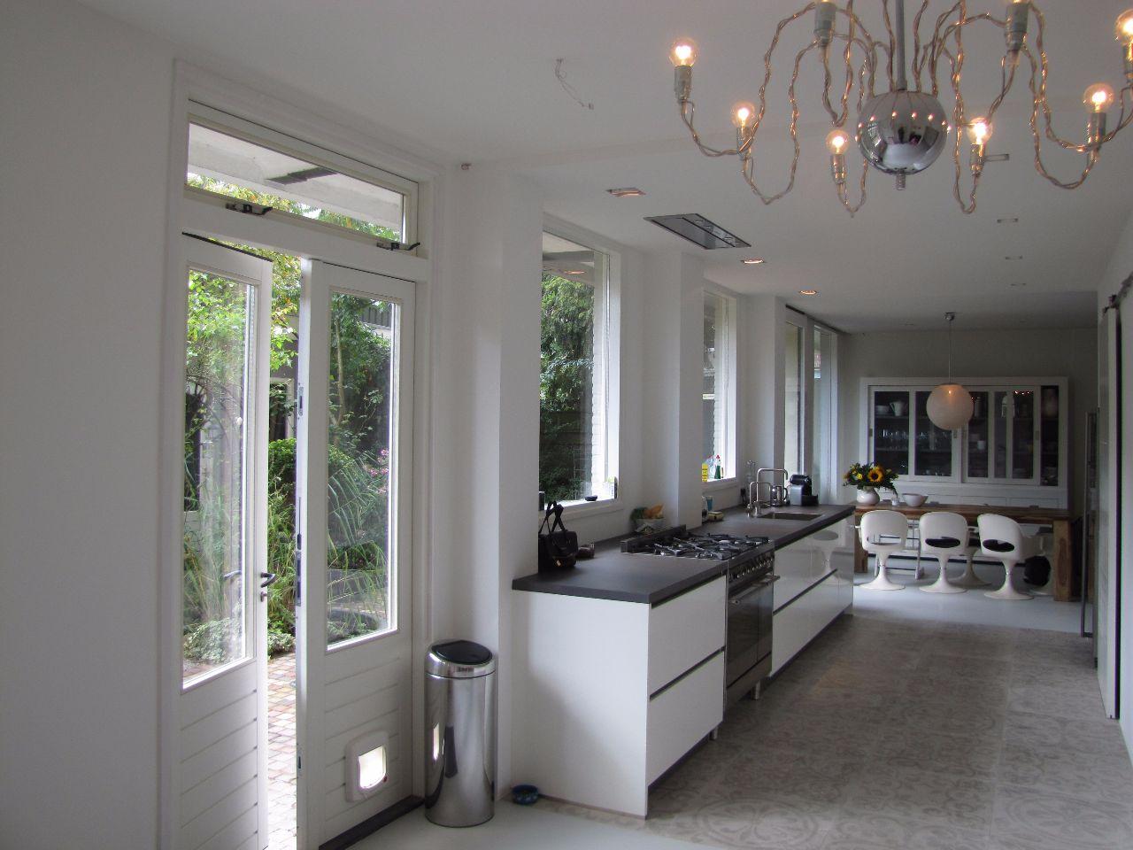 Doors Uitbouw Keuken : Moderne uitbouw benedenwoning utrecht richèl lubbers architect