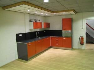 De kantine keuken